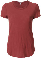 James Perse curved hem T-shirt - women - Cotton - 0