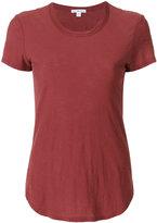 James Perse curved hem T-shirt - women - Cotton - I