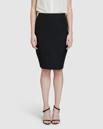 Oxford Women's Pencil skirts - Monroe Eco Suit Skirt - Size One Size, 6 at The Iconic