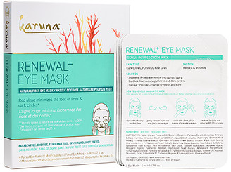Karuna Renewal+ Eye Mask 4 Pack.