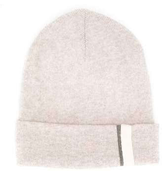 Brunello Cucinelli Kids embellished beanie hat