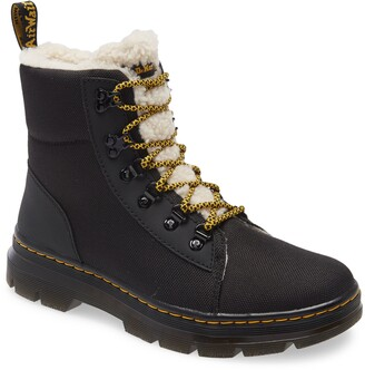 Dr. Martens Faux Fur Lined Hiker Boot