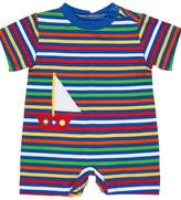 Florence Eiseman Striped Sailboat Romper