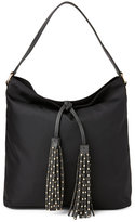 Deux Lux Black Linden Tasseled Hobo