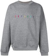 "Gosha Rubchinskiy EUROPA?"" sweatshirt - men - Cotton/Nylon - L"
