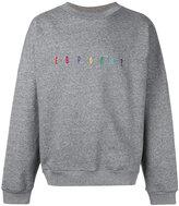 """Gosha Rubchinskiy EUROPA?"""" sweatshirt - men - Cotton/Nylon - S"""