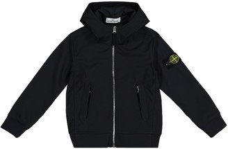 Stone Island Junior Hooded technical jacket
