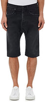 R 13 Men's Ian Denim Shorts-Black Size 28