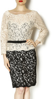 Adrianna Papell Jackie O Lace Dress