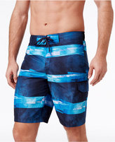 Speedo Men's Striped VaporPLUS Swim Trunks, 10""