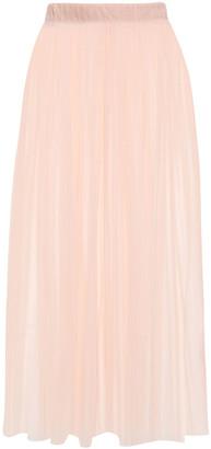 Ninety Percent Pleated Tulle Midi Skirt