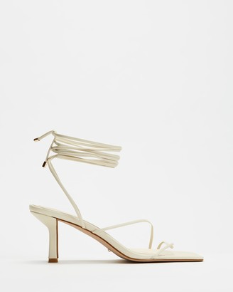 Billini - Women's White Strappy sandals - Elodie - Size 7 at The Iconic