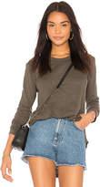 Wilt Side Slit Shirttail Tunic Top