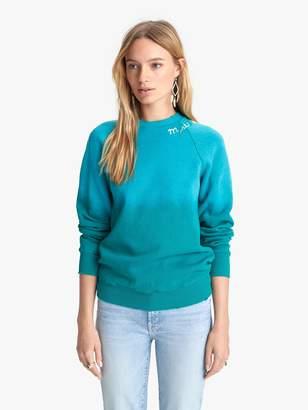 I Stole My Boyfriend's Shirt Mystical Rainbow Sweatshirt - Turquoise