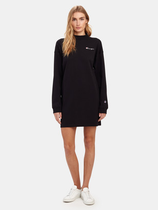 Champion Reverse Weave Small Script Oversized T-Shirt Dress