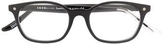 S'nob Teen square frame glasses
