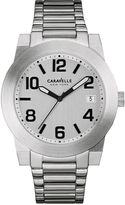 JCPenney CARAVELLE, NEW YORK Caravelle New York Mens Stainless Steel Sport Watch 43B142