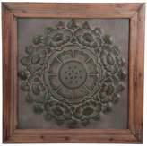 Privilege Floral Metal Wall Art