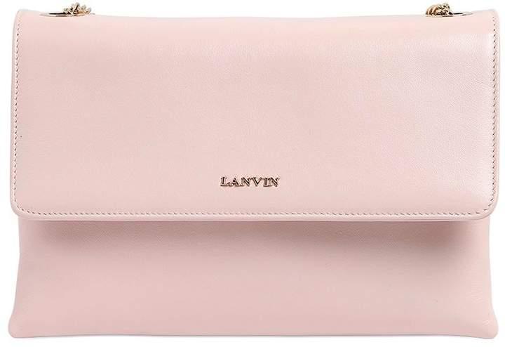 Lanvin Mini Sugar Nappa Leather Shoulder Bag