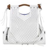Corto Moltedo Priscilla Perforated Leather Handbag