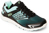Fila Black & Aqua Arizer Memory Foam Sneakers