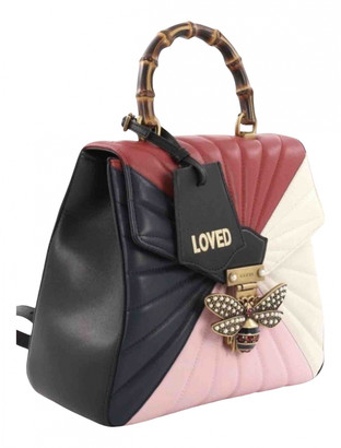 Gucci Queen Margaret Multicolour Leather Backpacks