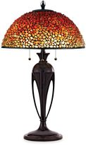 Quoizel Pomez 3-Light Tiffany Table Lamp