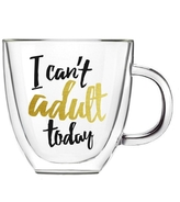 Evergreen Can't Adult Today Mug