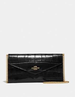 Coach Envelope Chain Wallet