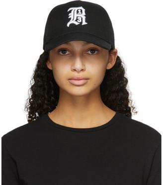 R 13 Black Logo Cap