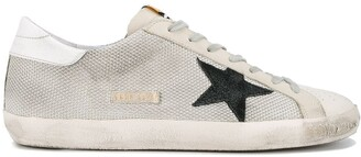 Golden Goose Grey Cord Superstar Sneakers
