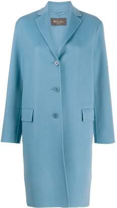 Loro Piana cashmere single-breasted coat