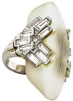 Alexis Bittar Deco Shield Ring