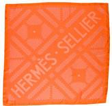 Hermes Sellier Silk Scarf w/ Tags