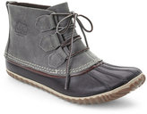 Sorel Grey & Black Out 'N About Waterproof Boots