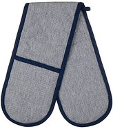 John Lewis House by Double Oven Glove, Navy Weave