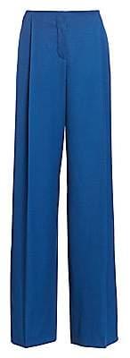 Nina Ricci Women's Virgin Wool Wide-Leg Trousers