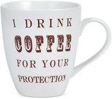 Pfaltzgraff I Drink Coffee For Your Protection Mug