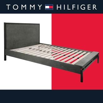 Tommy Hilfiger Ascher Queen Bed, Nantucket Gray