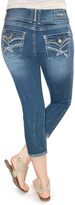 Amethyst Jeans Bethany Mid-Rise Triple Button Carpi Jeans