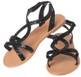 Crazy 8 Glitter Sandals