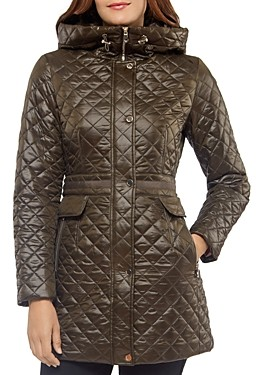 Kate Spade Hooded Quilted Jacket