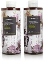 Korres Sea Lavender Shower Gel Duo