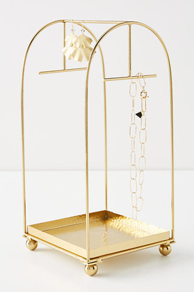 Anthropologie Cecilia Jewelry Stand By in Gold