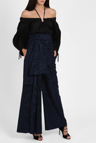 Rosie Assoulin High Waisted Sash Trousers