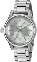 Nixon Women's 'Facet, All' Quartz Stainless Steel Automatic Watch, Color:Silver-Toned (Model: A384-1920-00)
