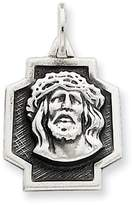 1928 Gold and Watches Sterling Silver Antiqued Ecce Homo Charm