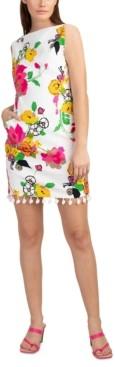 Trina Turk Light Floral-Print Sheath Dress