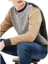 Lacoste LIVE Colour Block Crew Neck Sweatshirt, Multi