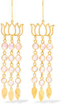 Pippa Small 18-karat Gold Tourmaline Earrings - one size